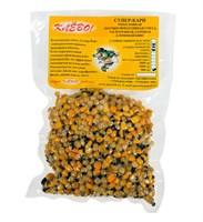 Cмесь СУПЕР КАРП КЛЕВО кукуруза, конопля, горох распаренные  0.5 кг.