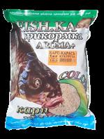 Прикормка Fish-Ka КАРП-КАРАСЬ 1кг КЛУБНИКА