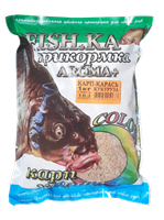 Прикормка Fish-Ka КАРП-КАРАСЬ 1кг ТУТТИ-ФРУТТИ